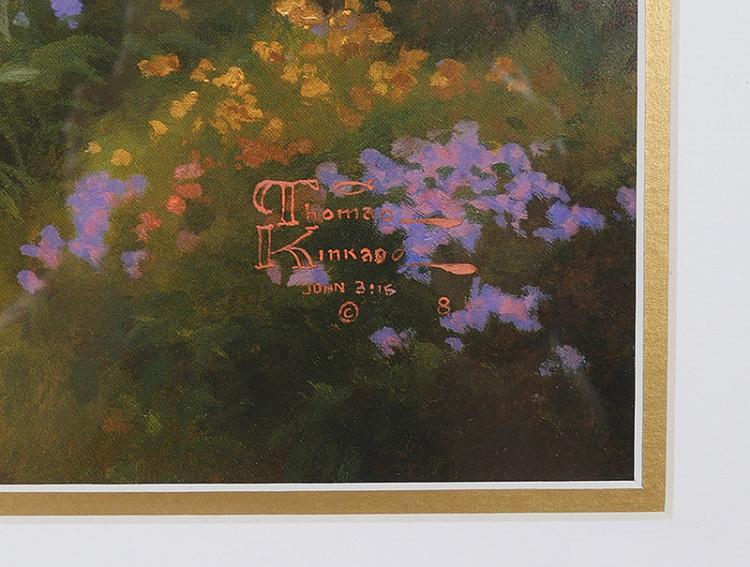 Thomas Kinkade Print Numbered Amp Signed