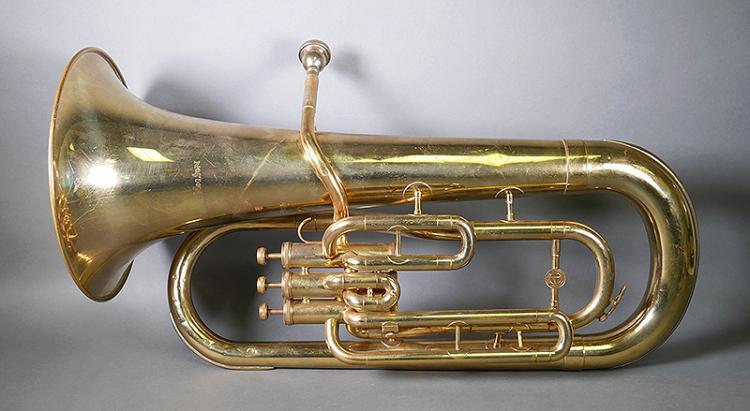 Holton Tuba Vintage Brass Musical Instrument