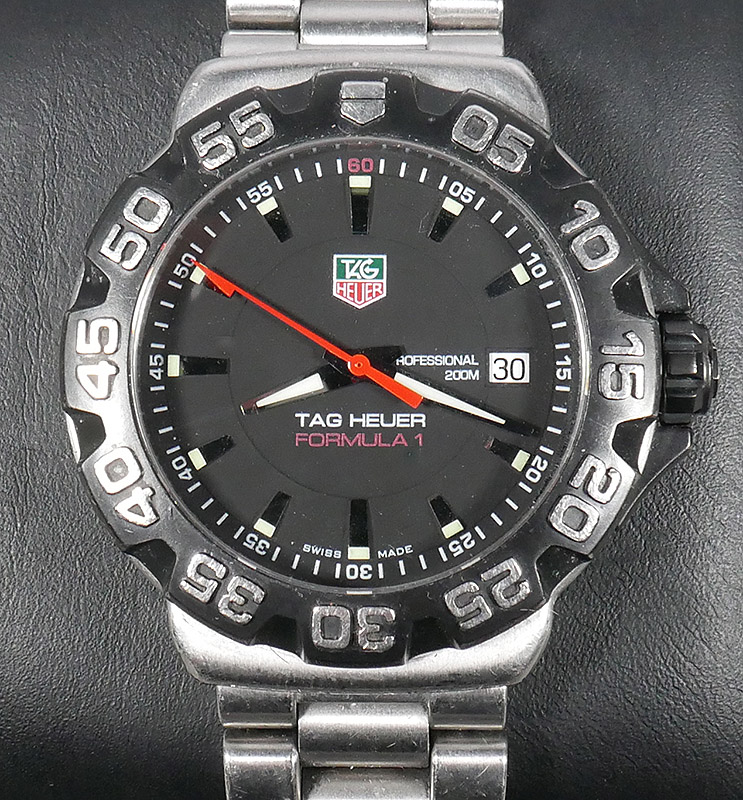 Tag Heuer Formula 1 Stainless Band Wristwatch