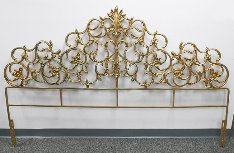 50 Kids Wrought Iron Bed Wrought Iron Queen Headboard: Antique Wrought Iron King Bed Headboard