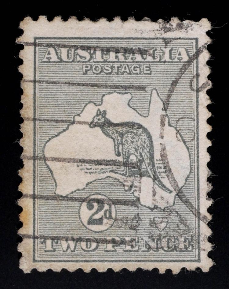 AUSTRALIA, 1915, 2p Wmk Inv, #38a CV $1,250