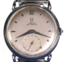 Vintage Omega 1950s Watch Automatic 342 Bumper