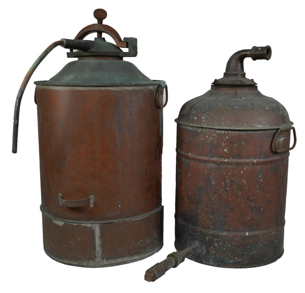 Antique Copper Moonshine Still