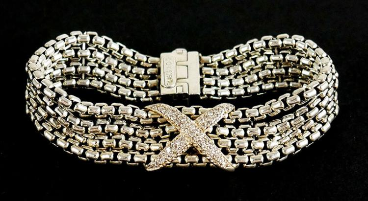 AUTHENTIC DAVID YURMAN DIAMOND BRACELET