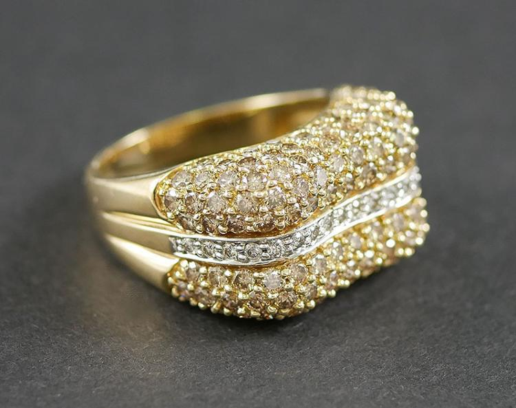 3.00 CARAT DIAMOND RING SET IN 14K GOLD