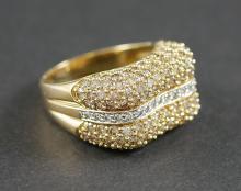 3.00 CARAT DIAMOND RING SET IN 14K GOLD