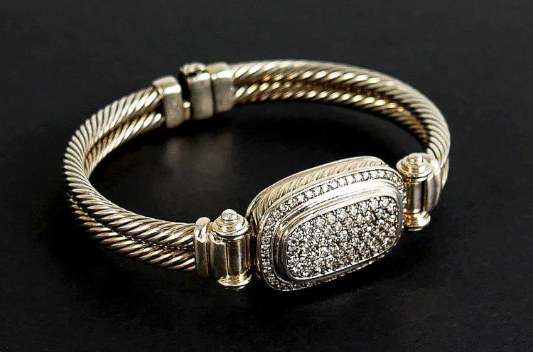 DAVID YURMAN AUTHENTIC DIAMOND BRACELET