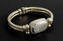 DAVID YURMAN AUTHENTIC DIAMOND BRACELET