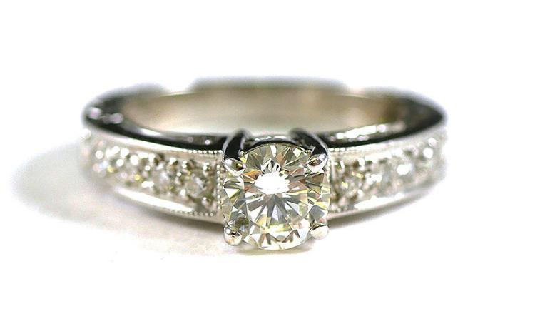 14K DIAMOND RING W/ APPRAISAL GIA $3,150.00