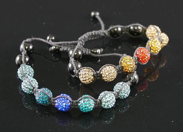 2- ADJUSTABLE KABALA BRACELETS