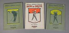 3 Vintage 1920 GOLF Instruction Booklets Wilson