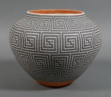 FREDERICA ANTONIO Acoma Pueblo Ceramic Olla Pot