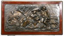 Coalbrookdale European Art Bronze Relief Plaque