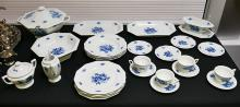 27 pieces Rosenthal MARIA Fine China Blue Flowers