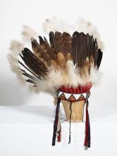 20C Tuscarora INDIAN CHIEF Headdress New York
