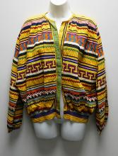 1940s SEMINOLE BIG SHIRT Indian Patchwork Jacket
