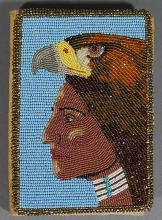 Native American Beadwork Billfold Handmade Wallet