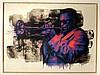 Print , MR BRAINWASH  (1966 - ), Miles Davis ,  Sérigraphie signée en bas à droite. Empreinte digi, Mr Brainwash, €500