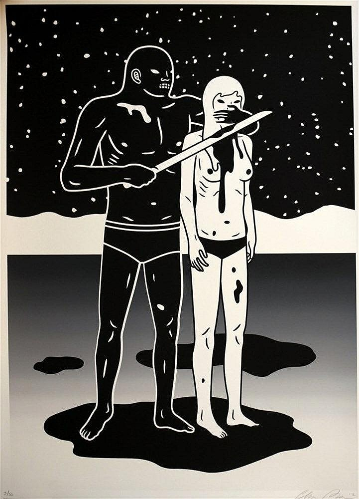 Print , PETERSON  Cleon (1973 - ), The Brinksman - End Of Days ,  Sérigraphie imprimée sur Coventry 320 mg, papier 1