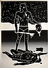 Print , PETERSON  Cleon (1973 - ), The Brinksman-Will To Power ,  Sérigraphie imprimée sur Coventry 320 mg, papier 1, Cleon Peterson, Click for value