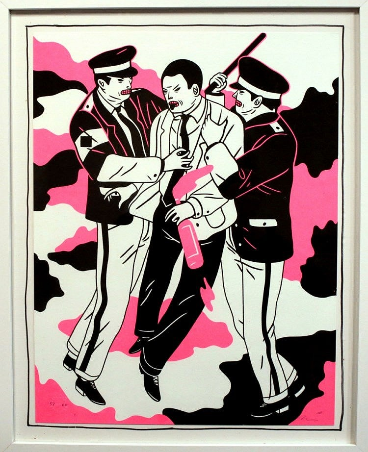 Print: Cleon PETERSON (1973)