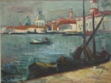 Stachelscheid, Karl (1907-1970) - Venedigansicht, …