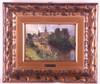 Heffner, Karl  (1849 Würzburg - 1925 Berlin) - Dorfansicht, Öl/Malpappe, un, Karl Heffner, €160