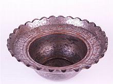 Spittoon - copper, Persia, 19th century, H.12cm; D.29cm