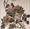 Konvolut Seidenstickereien - 3tlg., China, Anfang 20.Jh.,Vogelmotiv auf blühendem Ast, ca.23x32,5cm,77,5x34,5cm und 100x34cm, unter Glas gerahmt