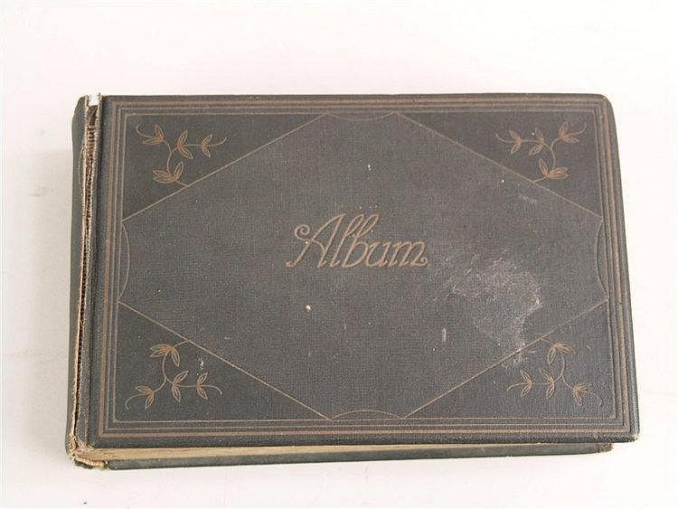 Postkartenalbum - ca.76 Postkarten, diverse ''Urlaubserinnerungen'' aus den Jahren 1911-1913, ca.13x19cm