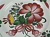 Fayenceteller - Blumendekor,Straßburg um 1770, Periode Joseph Hannong ''IH''-Zeichen??, D ca. 24 cm