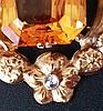 Citrin-Anhänger - ziselierte florale Goldfassung gestempelt 585,Besatz mit großem facettiertem Citrin (ca.20x12mm) und Diamant im Rosenschliff ca.0,08ct.,L(mit Öse).ca.5cm,ca.13,2g