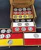 Holzbox Münzkollektion - 26 Stück, Deutsches Kaiserreich, Weimarer Republik, Drittes Reich, Bundesrepublik Deutschland, Silber 999, Gesamtgewicht ca. 1300 g, in aufwendiger Holzschatulle