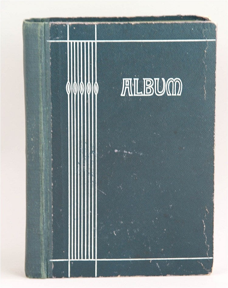 Postkartenalbum - 50St., 1903-1936, Ansichten, ca. 19x14cm