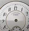 Zifferblatt - für Damentaschenuhr,signiert  A.Lange und Söhne, Glasshütte Dresden,Dm.ca.24mm