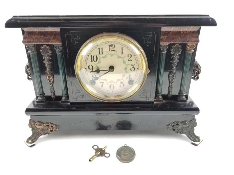 SESSIONS CLOCK COMPANY EIGHT DAY MANTLE CLOCK