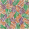 Jasper Johns, Crosshatch, 1977, Screenprint