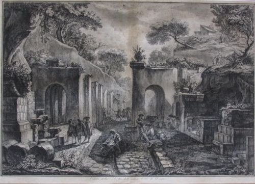Francesco Piranesi (Italian, 1758-1810), After Louis Jean Desprez, 1789, Etching