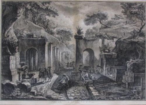Francesco Piranesi (Italian, 1758–1810), After Louis Jean Desprez, 1789, Etching