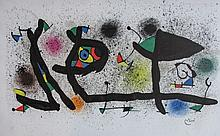 Joan Miró (Spanish, 1893-1983) Sculptures, 1974, Color Lithograph