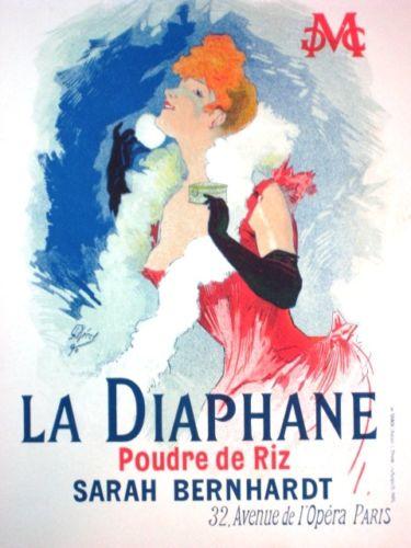 Maitres de L'Affiche Lithograph Poster, Jules Cheret, La Diaphane, Pl. 121
