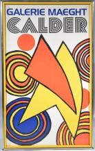 ALEXANDER CALDER, Galerie Maeght Vintage Exhibition Poster, Lithograph