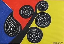 Alexander Calder (American, 1898 - 1976), Autumn Harvest, 1969, Lithograph