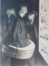 Théophile Alexandre Steinlen, Maitres de L'Affiche, Special Plate, 1898, Lithograph