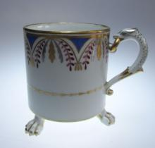 A Meissen Porcelain Coffee Can,  Marcolini Period, 18th Century