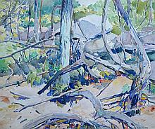 Winthrop Turney (American, 1884-1965), Mountainville, NY, 1935, Watercolor