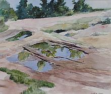 Winthrop Turney (1884-1965), Gloucester, Massachusetts, 1955, Watercolor