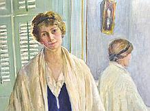 Agnes Millen Richmond (American, 1870–1964), Portrait of a Woman, Oil on Canvas
