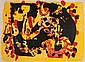 Alan Davie (b.1920) Untitled lithograph printed in