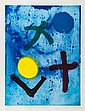 John Hoyland (1934-2011) Secret Summer etching